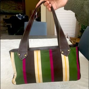 Kate Spade Shoulder Bag-Rich Colors & Leather Trim